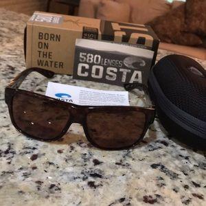 COSTA Caye 580P Polarized sunglasses with case